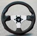 Raid hp Sportlenkrad LESMO 320mm schwarz/silber Carbon
