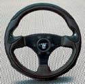 Raid hp Sportlenkrad LESMO 320mm schwarz/schwarz Carbon