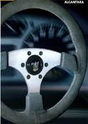 Raid hp Sportlenkrad HP RASCASSE Alcantara silber