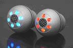 raid Alu-Schaltknauf mit roten LEDs - universell