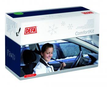 Waeco Defa Innenraumheizung/Heizlüfter-Set ComfortKit 1350 mit Termini für Pkw