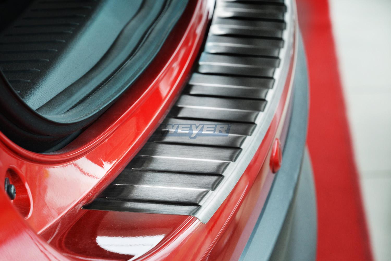 Weyer Edelstahl-Ladekantenschutz Black Mazda CX-5 +FL2012-2014,2014-2017